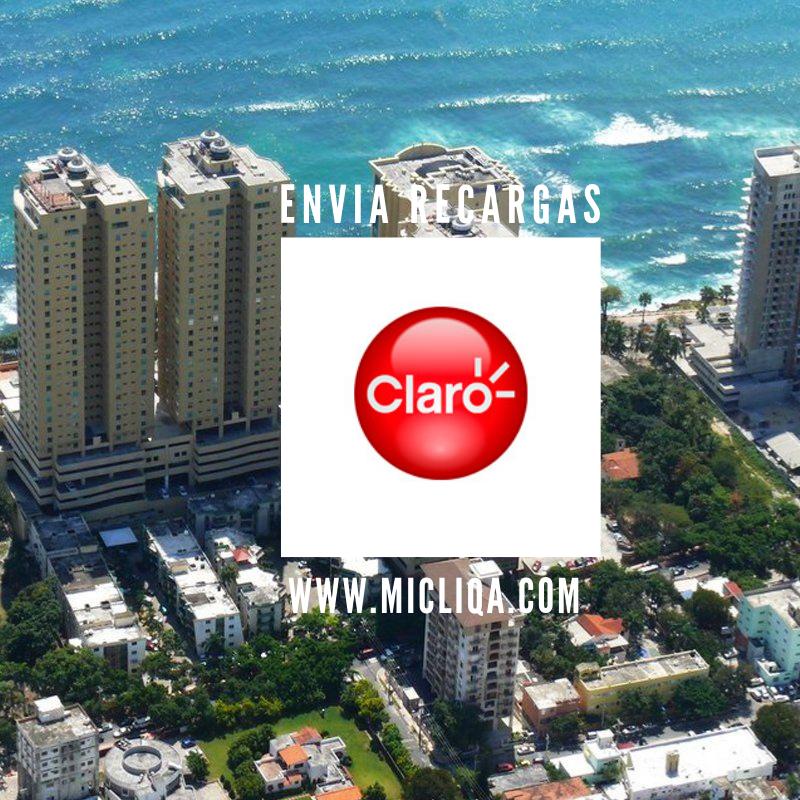 Recharge Claro Dominican Republic FREE Cliqa